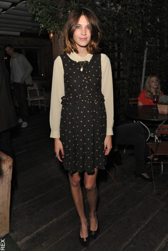 Most Stylish Lady: Alexa Chung (no Really It's Official